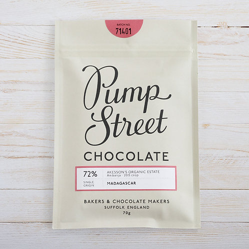 Pump Street Chocolate Madagascar 72%