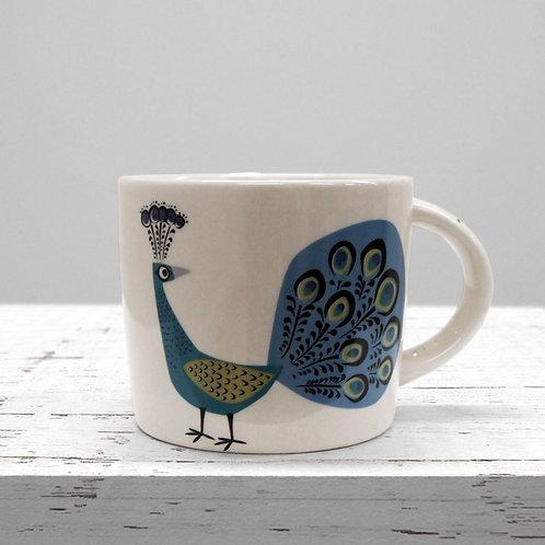 Hannah Turner Peacock Mug
