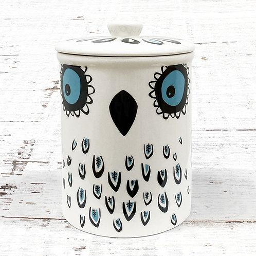 Hannah Turner Owl Storage Jar
