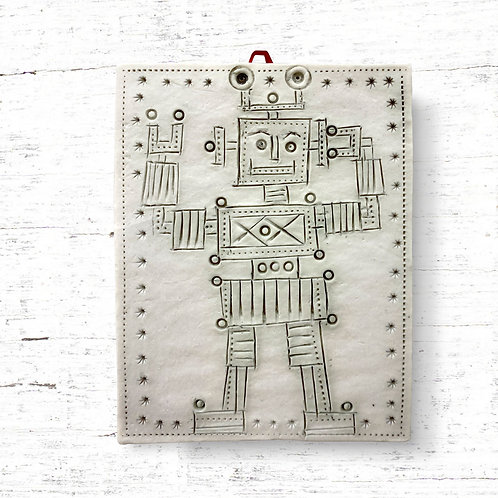 Cathy D'Arcy Ruby the Robot Tile