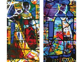 Contemporary Interpretations of Holy Trinity Glass, Melford by Noel Myles