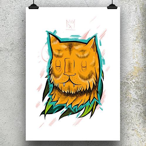 Kieran Page Sumatran Tiger A3 Print