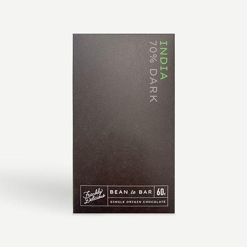 Frankly Delicious India 70%  Dark Chocolate