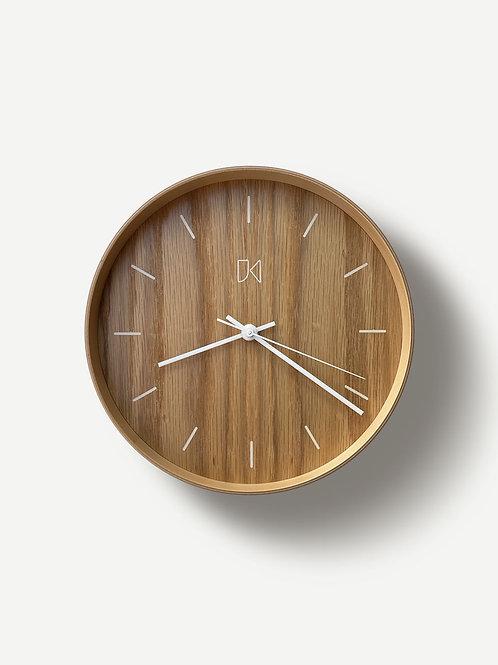 Jeffrey Knight Oak Wall Clock