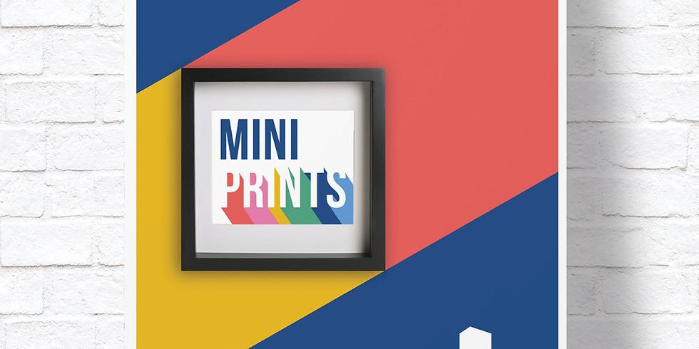 Gainsborough's House Print Workshop Mini Print Exhibition