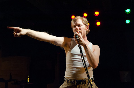 Anthony Rapp performing in Dedalus Lounge at the Royal Family Performing Arts Space