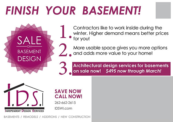 more info browse 2015 independent design services - Basement Design Services