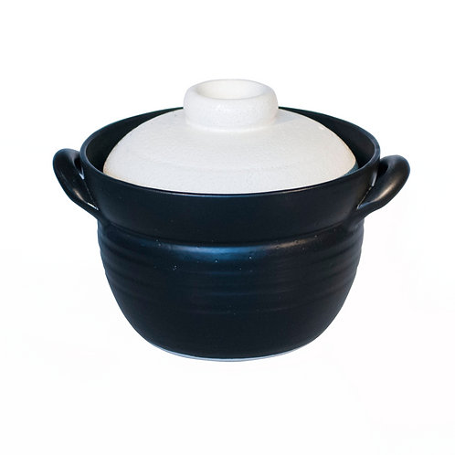 Ceramic rice cooker for 600g (white)