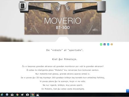 Moberio: Inteligenta okulvitroj de EPSON