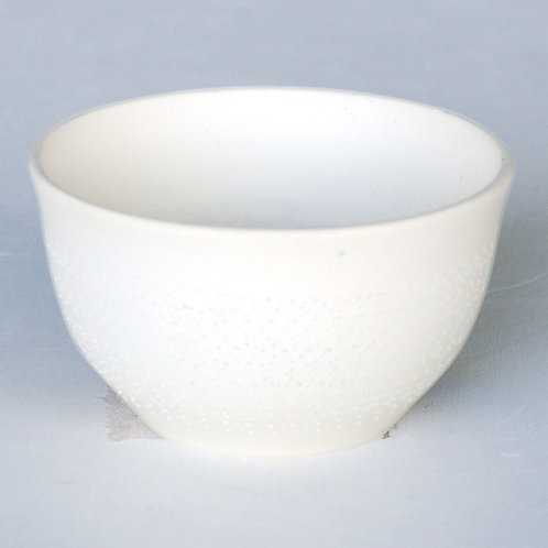 Ceramic tea cup (white/Tokoname ware)