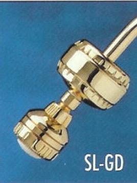 Slim-Line GOLD-(with Massage Showerhead & SLC Filter Cartridge)