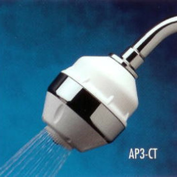 Prestige All-In-One Shower Filter Chrome Trim-(with SLC Filter Cartridge)  Prest