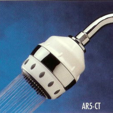 Royale All-In-One Filtered Shower Head Chrome Trim-(with ARC Filter Cartridge)