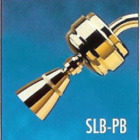 All-Brass Slim-Line Shower Filter Brass-(with SLC Filter Cartridge)