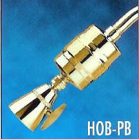 All-Brass High-Output Polished Brass Shower Filter-(with HOC Filter Cartridge)