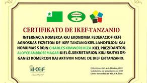 Deklaro: Oficiala fondigo de IKEF-Tanzanio