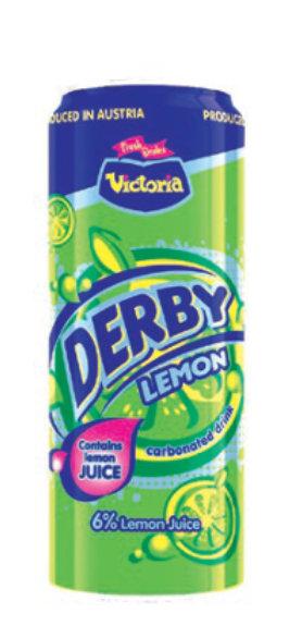 Derby Lemon: Aluminia botelo