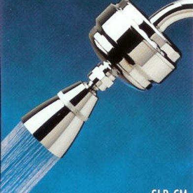 All-Brass Slim-Line Shower Filter Chrome-(with SLC Filter Cartridge)