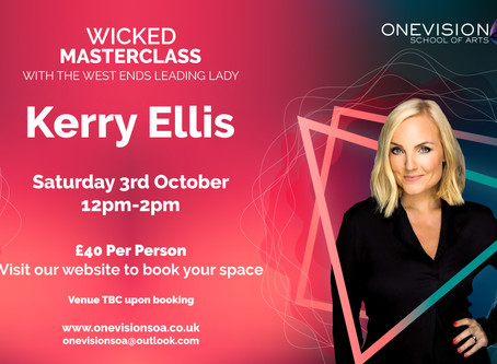 Wicked Masterclass with Kerry Ellis