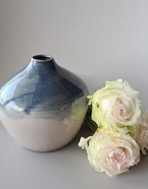 Ultramarine Violet Bud Vase