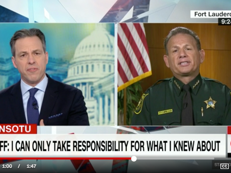 "Leadership and Responsibility: Is Sheriff Israel ""an amazing leader"" (his words) or a cowa"