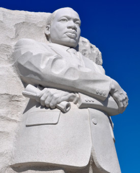 """I was alone in that crowded room."" ~the leadership of Martin Luther King, Jr."