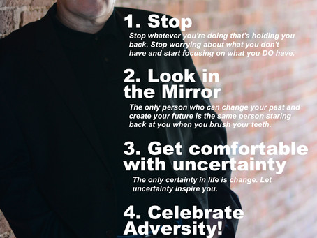 Top 5 Things To Do to Change Your Life NOW––(Especially for people who hate Top 5 lists)