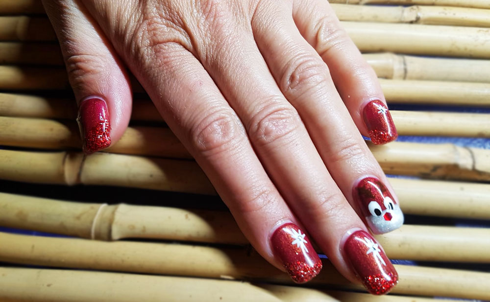 "Nails ""Rudolf"""