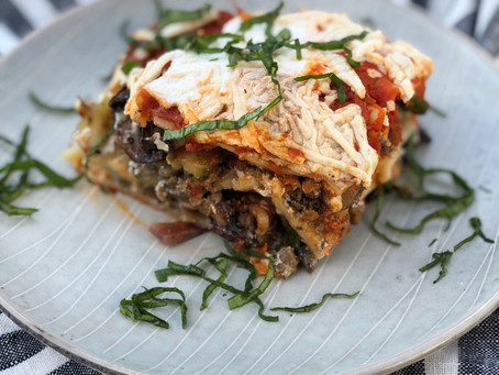 A Lazy Gals' Vegan Lasagna