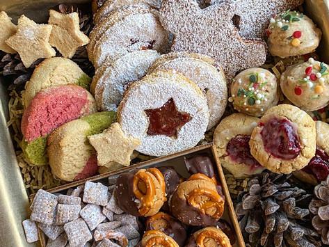Christmas Cookie Box - Vegan & Gluten Free