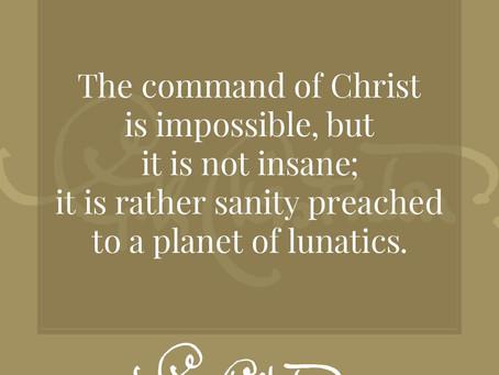 Chesterton on Lent #3