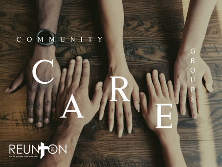 Community Care Group Ministry - Faith, Integrity, Gifting, Prayer