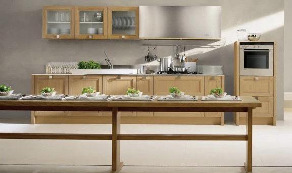 Claves para la decoración de la cocina con madera.