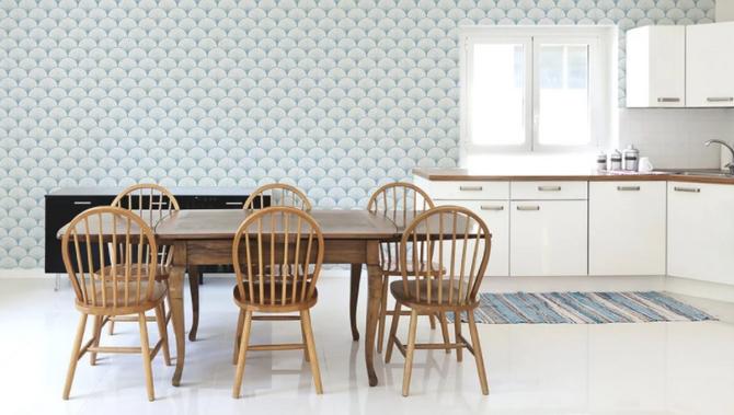Papel tapiz: Decora tus paredes a tu gusto.
