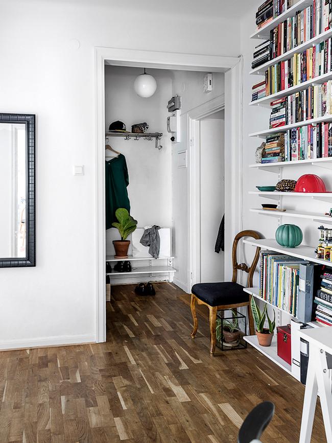 Un pequeño piso con una estilo Boho-Nordico-Chic