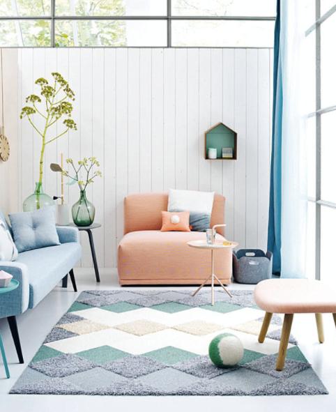 Decora tu casa con colores pastel y llénala de luz y alegría.