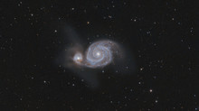 New Solar images and a colour M51