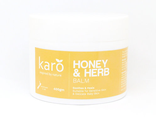 KARO Honey & Herb Balm 400g