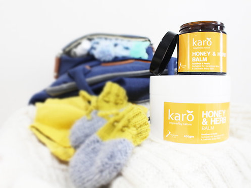 Karo Honey & Herb Balm - Ideal for Baby