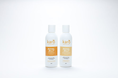 KARO Royal Jelly Shampoo and Conditioner 250ml Combo