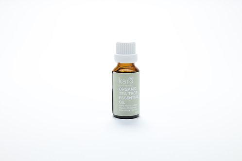 KARO Organic Tea Tree Essential Oil 20ml