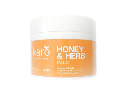 KARO Honey & Herb Balm 400g