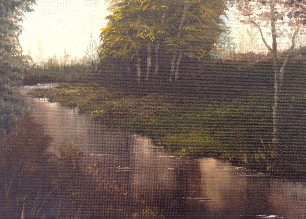 Small River Scene
