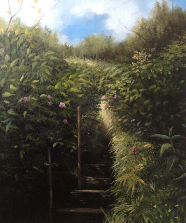 The Garden Stairway