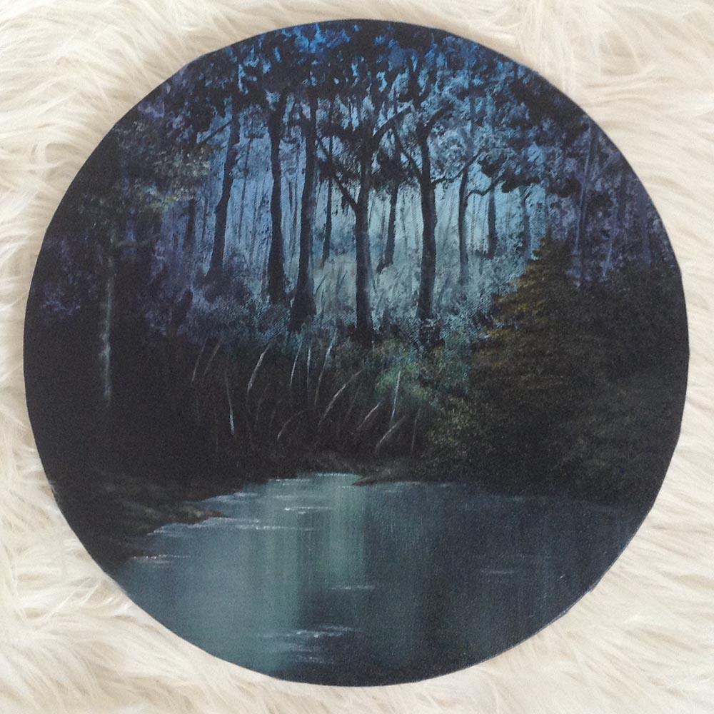 Blue Forest Pond