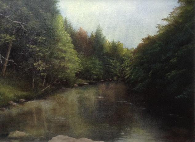 Flat Rocks, River Don