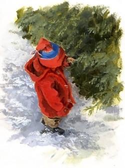 Oscar in the Snow