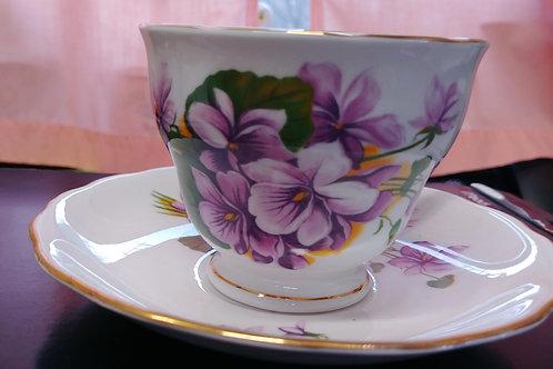 Tea Cup & Saucer - Royal Vale #2