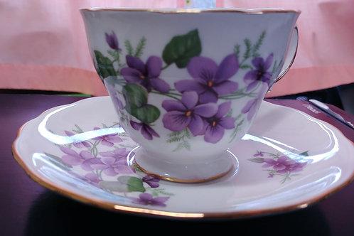 Tea Cup & Saucer - Royal Vale #1