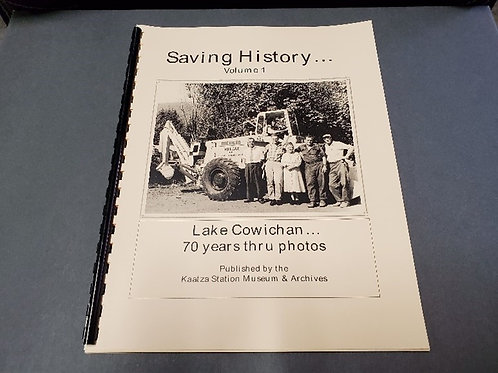 Saving History-Volume 1